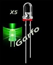 5X Diodo LED 5x9 mm Verde 2 Pin alta luminosidad