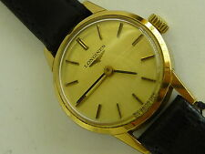 Longines Gold Plated Case Mechanical (Hand-winding) Watches