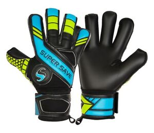Supersave SS PremierH1 Blue/Black Hybrid Cut Goalkeeper Gloves