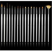New white 15 suit Nail art supplies brush nail painting pen Pearl Tools