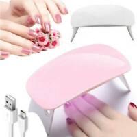 Nails Lamp LED Light Portable Mini UV LED Lamp Nail Dryer for Gel Nail Tools UK`
