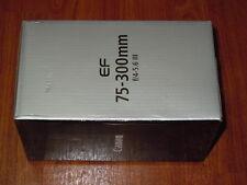 Canon EF Canon 75-300mm f/4.0-5.6 III AF Lens for T3 T3i T4i T5i 60D 70D 6473A00