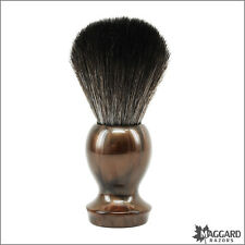 Shaving Brush - Maggard Razors - Bronze 22mm Synthetic Brush Black Fibers