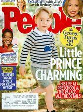 2016 People Magazine: Prince George Turns 3/Simone Biles/Jennifer Lopez