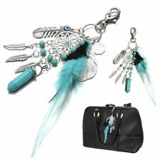 Dream Catcher Keyring Dreamcatcher Lucky Charm Purse Bag Key Chain Ring Keyfob