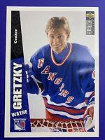 1996-97 Upper Deck Collector's Choice Oversized Jumbo  #170 Wayne Gretzky 5X7 SP