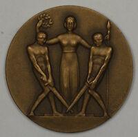 1937 Lucerne Switzerland Swiss Bronze Medal JA
