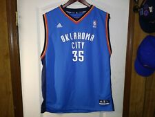 Adidas Oklahoma City Thunder #35 Kevin Durant Classic Nba Basketball Jersey Xl