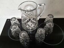 Crystal Water Jug Set