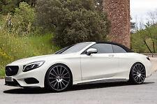 Stylus Alufelgen 9+10x 22 Zoll Mercedes S Klasse Cabrio Limousine MHE + AMG