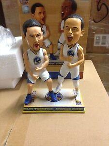 Stephen Curry Klay Thompson Dual Splash Brothers Bobblehead Bobble Head NEW