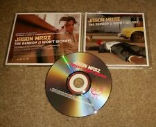 JASON MRAZ The Remedy I won't worry w/10 MINUTE VIDEO PROFILE PROMO DJ CD Single