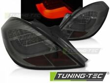 LED Taillights For OPEL CORSA D 3D 04.06-14 SMOKE LED BAR..