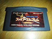 GBA Fire Emblem Fuuin no Tsurugi Japan Gameboy Advance Japan F/S