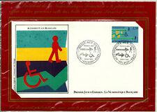 SOBRE PRIMER DIA. 1988. FRANCIA. PREMIER JOU D'EMISSION