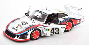 "1/18 Scale Solido Porsche 935/78 ""Moby Dick"" Martini Racing Lemans Model Car"
