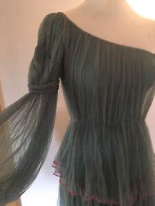 SOPHIA KOKOSALAKI Silk Tulle Gown Maxi Dress