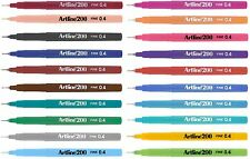 Artline 200 Fineliners Technical Drawing Marker Pens Extra Fine Point