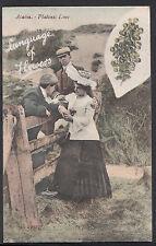 Romance Postcard - Language of Flowers - Acacia - Platonic Love  W865