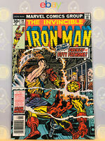 Invincible Iron Man #94 (9.4) NM 1977 Bronze Age Cover By Jack Kirby