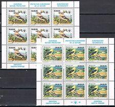 Joegoslavië 1993 vellen 2620-2621 Europese natuurbescherming cat waarde € 140