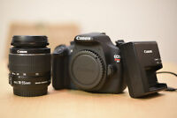 Canon Rebel T5 /1200D Digital DSLR Camera W/ EF-S 18-55mm IS II Lens (2 LENSES)