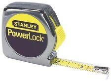 "NEW CASE OF (6) STANLEY 33-212 1/2"" X 12' FOOT POWERLOCK TAPE MEASURE RULER"