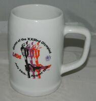 VTG 1984 Olympics LA84 XXIIIrd Olympiad Beer Stein Mug Tankard Star in Motion