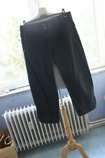 M+F GIRBAUD  Superbe  pantalon 7/8 ème  en jeans   effet spécial  T42  ORIGINALE