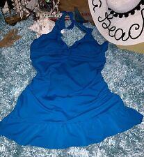 Rockabilly One Piece Romper One Piece Minimizer Dress Playsuit Swimsuit 18 XXL