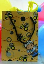 6 Lovely Chubblies BUILDER Paper PARTY BAGS New