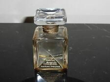 "VINTAGE REVLON INTIMATE EMPTY PERFUME BOTTLE 2.5"" TALL"