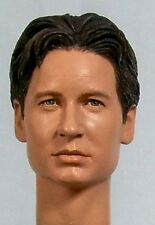 1:6 Custom Head of David Duchovny as Fox Mulder from the TV show The X-Files
