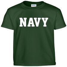 US NAVY Physical Training  Military PT T Shirt  24 Color Combinations  8 Sizes