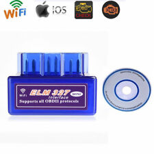 ELM327 WiFi OBD2 OBDII Car Diagnostic Interface Scanner Tool For PC Android iOS
