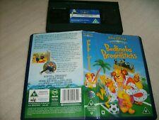 Vhs * Bedknobs and Broomsticks * Rare U.K. - Original Walt Disney Classic Movie!