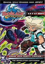 Beyblade: G Revolution - Vol. 6: Same Old Dirty Tricks... (DVD, 2005, Uncut) B17