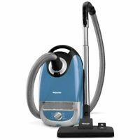 Miele Complete C2 Hard Floor Canister Vacuum Cleaner - Tech Blue