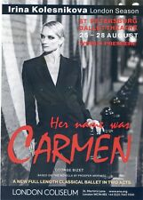 IRINA KOLESNIKOVA Theatre Flyer Handbill