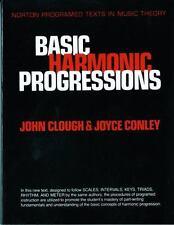 Basic Harmonic Progressions by Joyce Conley and John Clough (1984, Paperback)
