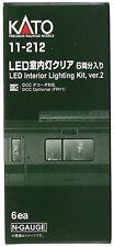 Kato USA, Inc. Kato 11212 N Passenger Car Light Kit, White LED (6)