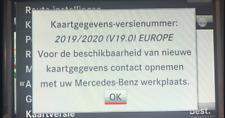 Mercedes NTG4.5 NTG4.7 COMAND online activation code & Europe v19 2019/2020 Maps