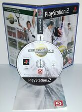 PERFECT ACE TENNIS THE CHAMPIONSHIP - Ps2 Playstation Play Station 2 Gioco Game