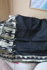Jute/Gheecha  silk saree for evening wear, Black saree