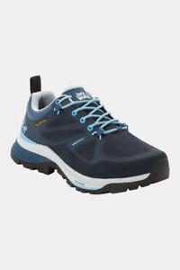 Jack Wolfskin Womens Force Striker Texapore Low Hiking Shoe Blue UK6
