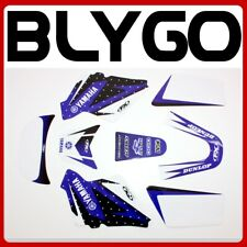 3m PW Only Blue Decals Graphics Sticker Kit Yamaha PEEWEE 50 Pw50 Py50 Fairing