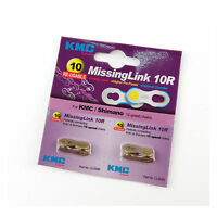 KMC CL559R Missing Link 10R for Bike Bicycle KMC SHIMANO 10 Speed Chain - Gold
