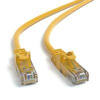 1m CAT 6 Patchkabel Netzwerkkabel Ethernetkabel DSL LAN Kabel  - GELB