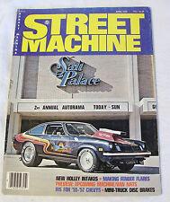 April 1976 STREET MACHINE AUTO ENTHUSIAST MAGAZINE