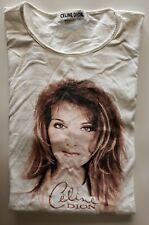 Celine Dion T-Shirt White Women's Size 2X  Vintage